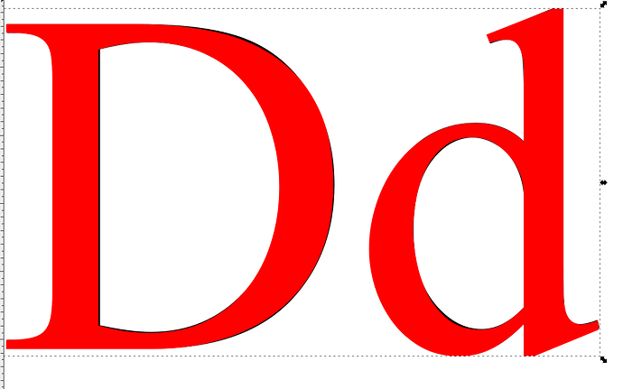font-difference